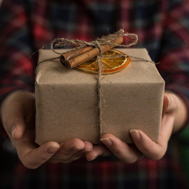 Weihnachtsgeschenke im Büro