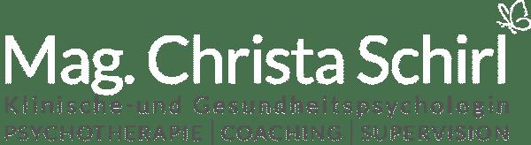 Mag Christa Schirl - Klinische- und Gesundheitspsychologin, Psychotherapeutin