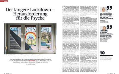 Der längere Lockdown –Herausforderung für die Psyche